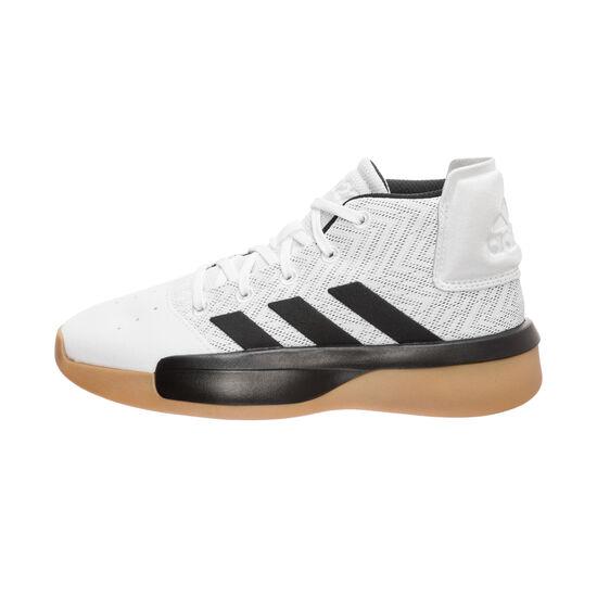 Pro Adversary 2019 Basketballschuh Kinder, weiß / schwarz, zoom bei OUTFITTER Online