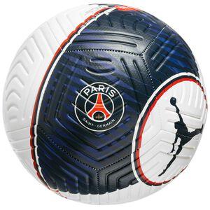 Paris St.-Germain Strike Fußball, weiß / dunkelblau, zoom bei OUTFITTER Online