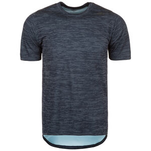 FreeLift Tech Striped Trainingsshirt Herren, dunkelblau, zoom bei OUTFITTER Online
