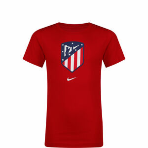 Atletico Madrid Evergreen Crest T-Shirt Kinder, rot / blau, zoom bei OUTFITTER Online