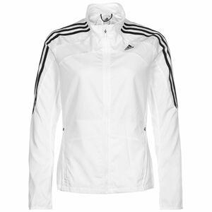 Marathon 3-Streifen Laufjacke Damen, weiß / schwarz, zoom bei OUTFITTER Online