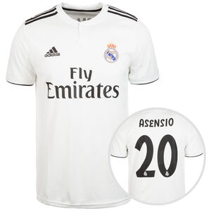 Real Madrid Trikot Home Asensio 2018/2019 Herren, Weiß, zoom bei OUTFITTER Online