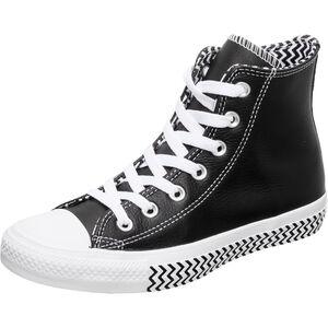 Chuck Taylor All Star High Sneaker Damen, schwarz / weiß, zoom bei OUTFITTER Online
