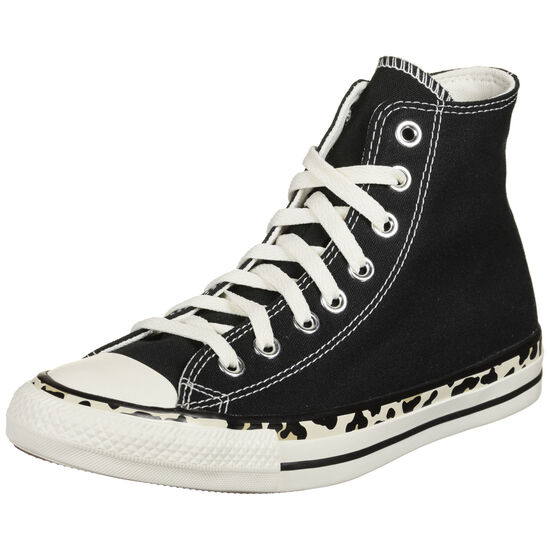 Chuck Taylor All Star Edged Archive High Sneaker Damen, schwarz / weiß, zoom bei OUTFITTER Online