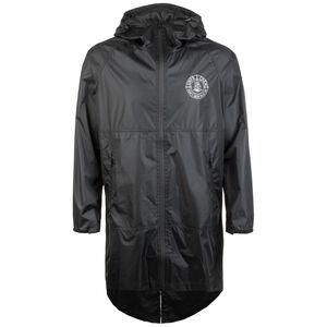 DMWU Reflective Regenparka Herren, schwarz, zoom bei OUTFITTER Online