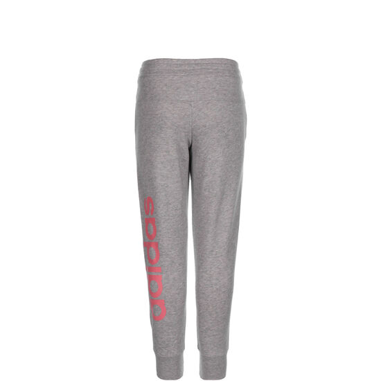 Young Linear Jogginghose Kinder, grau / pink, zoom bei OUTFITTER Online