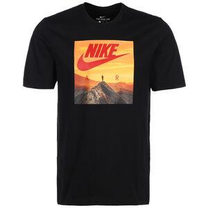 Air Photo T-Shirt Herren, schwarz / gelb, zoom bei OUTFITTER Online