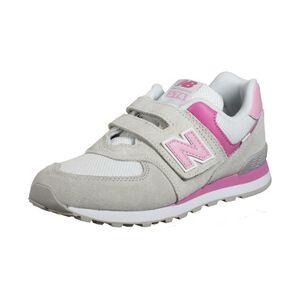 574 Sneaker Kinder, grau / pink, zoom bei OUTFITTER Online