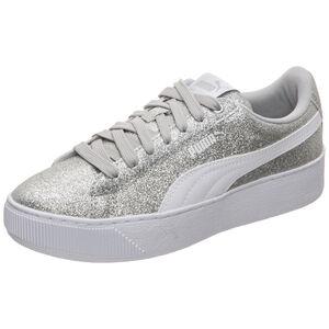 Vikky Platform Glitz Sneaker Kinder, Silber, zoom bei OUTFITTER Online