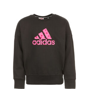Must Haves Badge Of Sport Sweatshirt Kinder, schwarz / pink, zoom bei OUTFITTER Online
