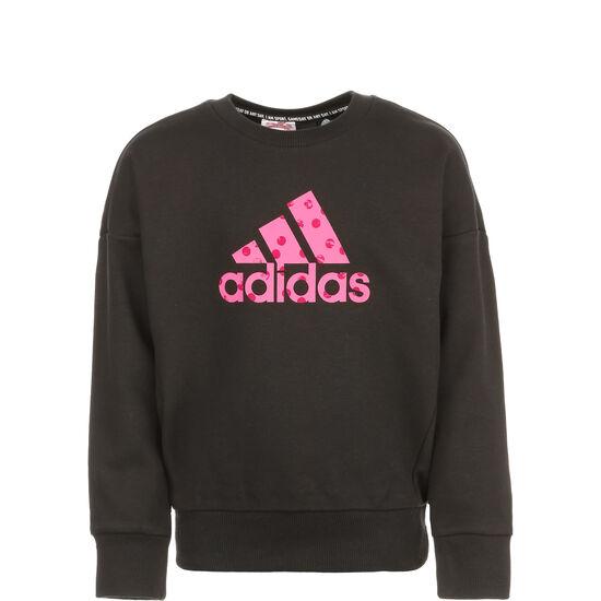 Must Haves Badge Of Sport Sweatshirt Kinder, schwarz / pink, zoom bei OUTFITTER Online