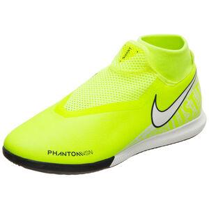 Phantom Vision Academy DF Indoor Fußballschuh Herren, neongelb / weiß, zoom bei OUTFITTER Online