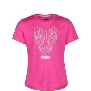 Runtrain T-Shirt Kinder, pink, zoom bei OUTFITTER Online