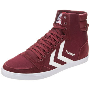 Slimmer Stadil High Sneaker, Rot, zoom bei OUTFITTER Online