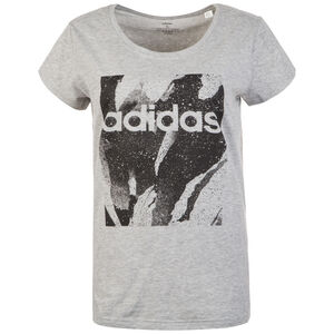Essentials Season All Over Print T-Shirt Damen, grau / schwarz, zoom bei OUTFITTER Online