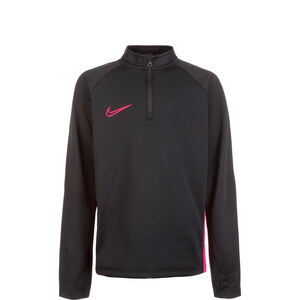 Dry Academy Drill Longsleeve Kinder, schwarz / korall, zoom bei OUTFITTER Online