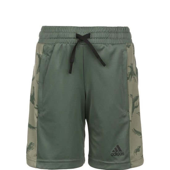 Designed to Move Camouflage Trainingsshorts Kinder, oliv / grün, zoom bei OUTFITTER Online