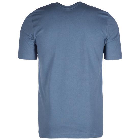 Essentials 3-Stripes T-Shirt Herren, dunkelblau / weiß, zoom bei OUTFITTER Online