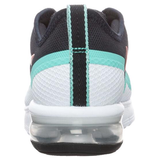 Air Max Sequent 4.5 Sneaker Damen, schwarz / korall, zoom bei OUTFITTER Online