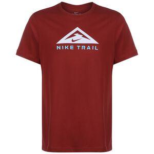 Trail Laufshirt Herren, dunkelrot, zoom bei OUTFITTER Online