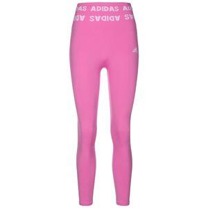 Aeroknit 7/8 Trainingstight Damen, pink / weiß, zoom bei OUTFITTER Online