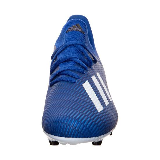 X 19.3 FG Fußballschuh Kinder, blau / weiß, zoom bei OUTFITTER Online