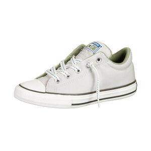 Chuck Taylor All Star Street Slip OX Sneaker Kinder, beige / hellgrün, zoom bei OUTFITTER Online