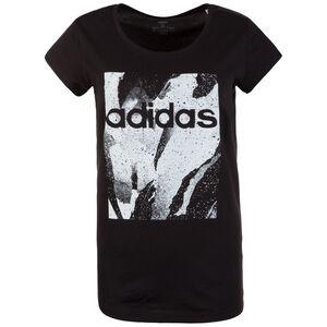 Essentials Season All Over Print T-Shirt Damen, schwarz / weiß, zoom bei OUTFITTER Online