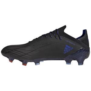 X Speedflow.1 FG Fußballschuh Herren, schwarz / blau, zoom bei OUTFITTER Online