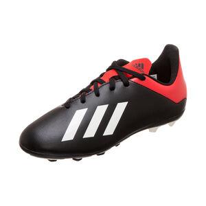 X 18.4 FxG Fußballschuh Kinder, schwarz / rot, zoom bei OUTFITTER Online