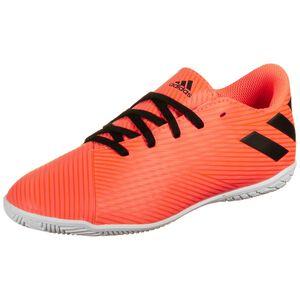 Nemeziz 19.4 Indoor Fußballschuh Kinder, orange / schwarz, zoom bei OUTFITTER Online