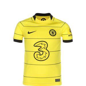 FC Chelsea Trikot Away Stadium 2021/2022 Kinder, gelb / schwarz, zoom bei OUTFITTER Online