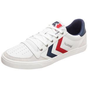 Slimmer Stadil Low Sneaker, weiß / blau, zoom bei OUTFITTER Online