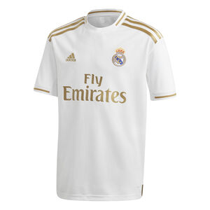 Real Madrid Trikot Home 2019/2020 Kinder, weiß / gold, zoom bei OUTFITTER Online