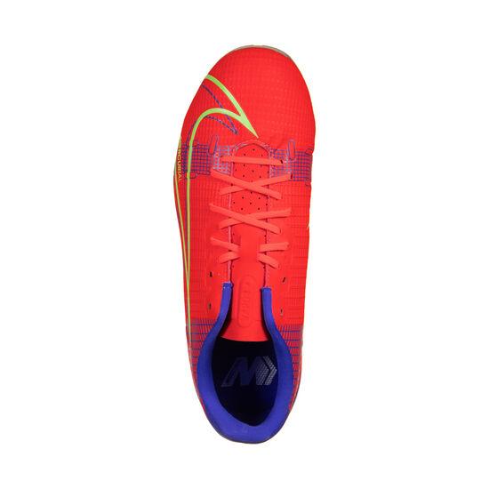 Mercurial Vapor 14 Academy MG Fußballschuh Kinder, neonrot / silber, zoom bei OUTFITTER Online