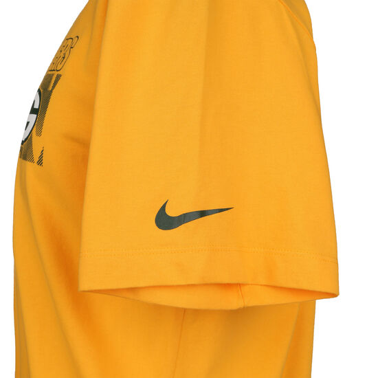 NFL Cotton Facility Green Bay Packers T-Shirt Herren, gelb / weiß, zoom bei OUTFITTER Online