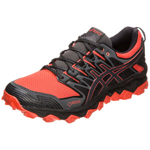 GEL-FujiTrabuco 7 G-TX Trail Laufschuh Herren, rot / grau, zoom bei OUTFITTER Online