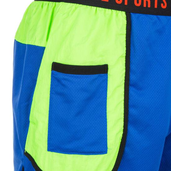 Dri-FIT Trainingsshort Herren, blau / neongrün, zoom bei OUTFITTER Online