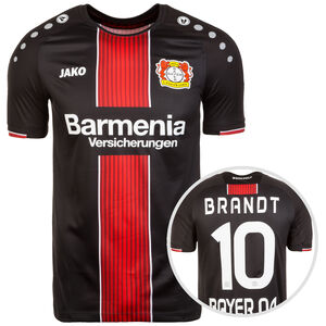 Bayer 04 Leverkusen Trikot Home Brandt 2018/2019 Herren, Schwarz, zoom bei OUTFITTER Online