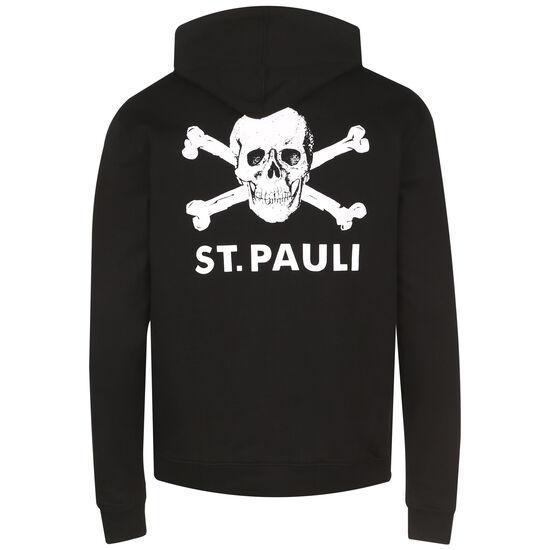 Totenkopf II Kapuzenpullover Herren, schwarz / weiß, zoom bei OUTFITTER Online