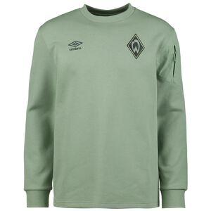 SV Werder Bremen Travel Sweatshirt Herren, grün, zoom bei OUTFITTER Online