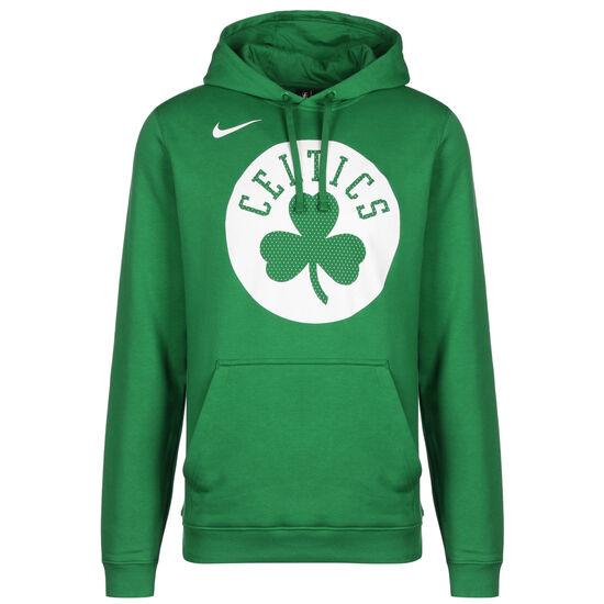 Boston Celtics Logo Fleece Kapuzenpullover Herren, grün / weiß, zoom bei OUTFITTER Online