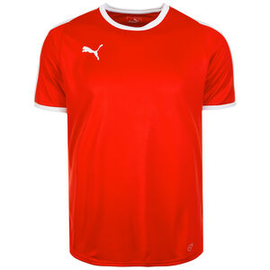 Liga Fußballtrikot Herren, rot / weiß, zoom bei OUTFITTER Online