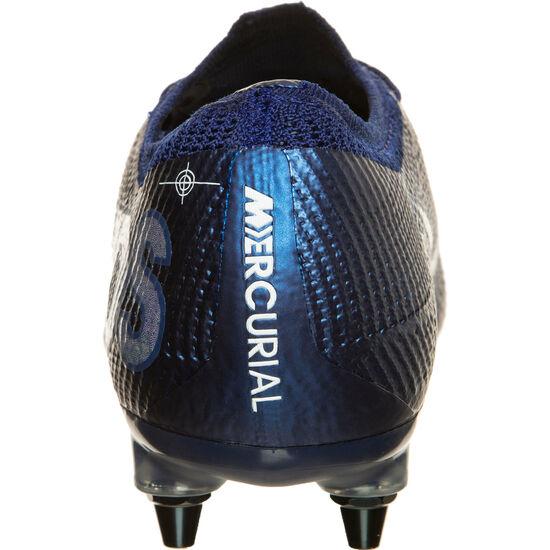 Mercurial Vapor 7 Elite MDS SG-Pro AC Fußballschuh Herren, blau / gelb, zoom bei OUTFITTER Online