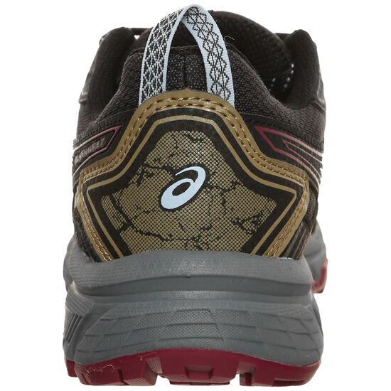 Gel-Venture 7 Trail Laufschuh Damen, dunkelgrau / rot, zoom bei OUTFITTER Online