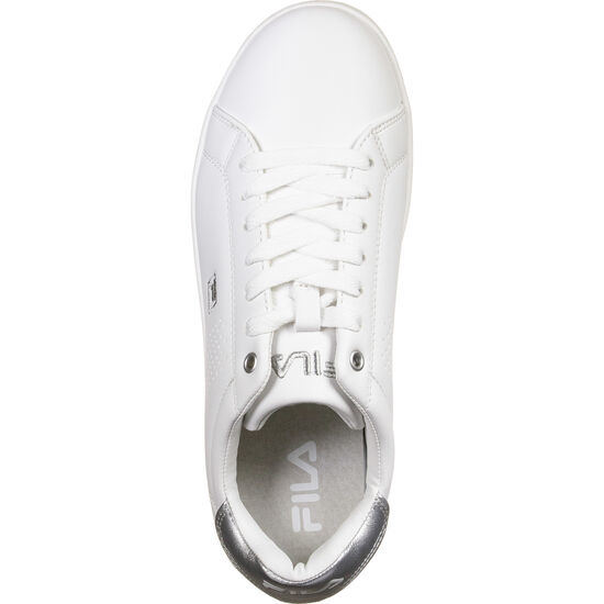 Crosscourt 2 F Low Sneaker Damen, weiß / silber, zoom bei OUTFITTER Online