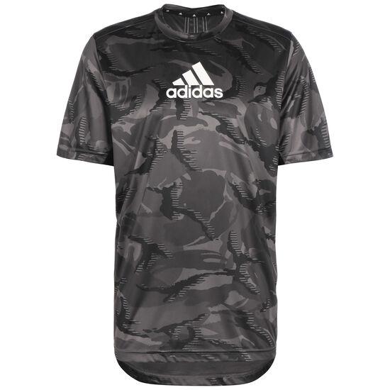 Designed To Move Camouflage Trainingsshirt Herren, dunkelgrau / grau, zoom bei OUTFITTER Online