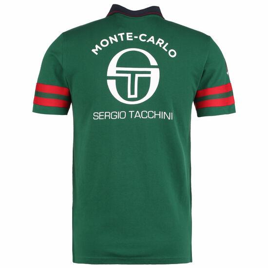 Freud Monte-Carlo Staff Poloshirt Herren, grün / rot, zoom bei OUTFITTER Online