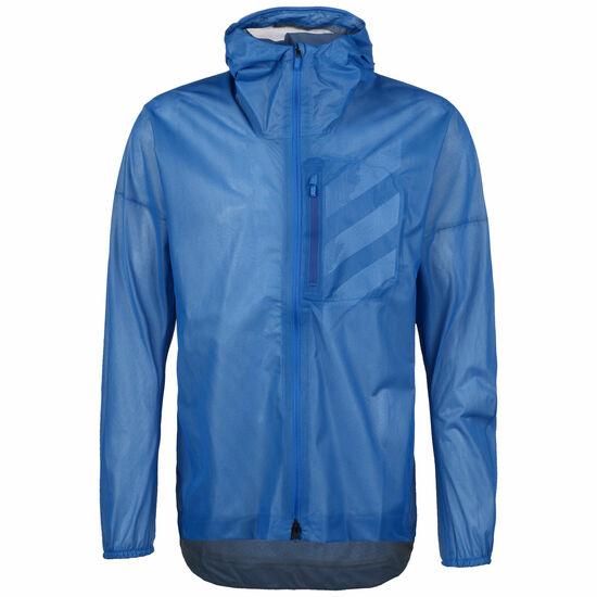 Terrex Agravic Rain Laufjacke Herren, blau / weiß, zoom bei OUTFITTER Online
