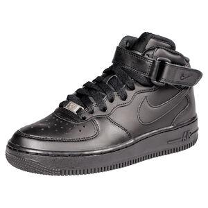Force 1 Mid 06 Sneaker Kinder, Schwarz, zoom bei OUTFITTER Online